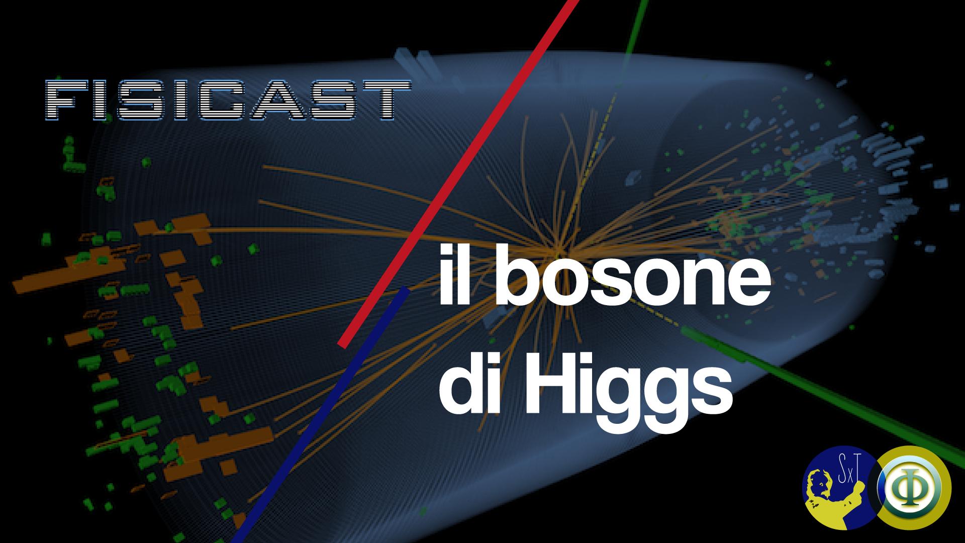 cover della puntata sul bosone di higgs